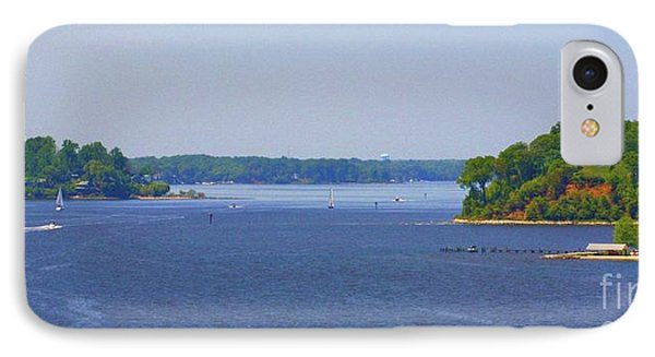 Boating On The Severn River Phone Case by Patti Whitten