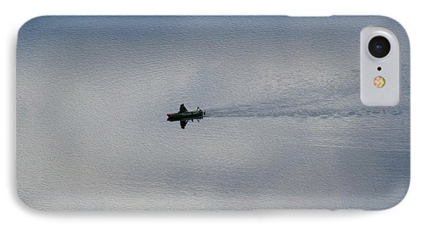 Boating Through The Clouds Phone Case by Omaste Witkowski