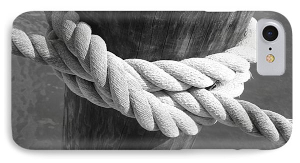 IPhone Case featuring the photograph Boatman's Knot by Ellen Tully