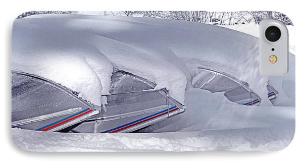 Boats And Snowdrift IPhone Case