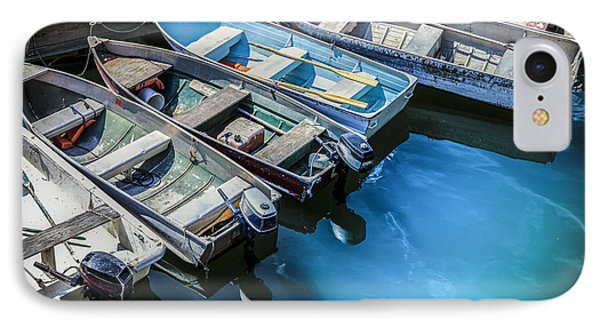 Boats At Bar Harbor Maine IPhone Case