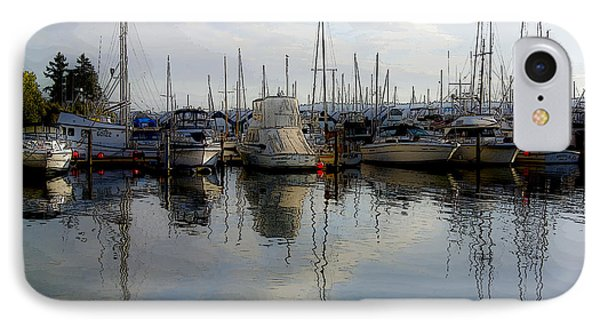IPhone Case featuring the photograph Boats At Marina On Liberty Bay by Greg Reed