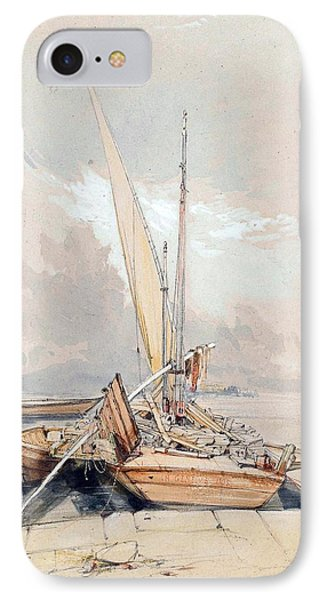 Boats At Quayside Lake Geneva IPhone Case by James Holland