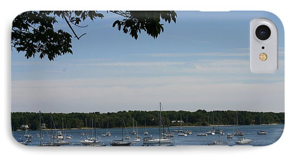 IPhone Case featuring the photograph Boats At Rest by Denyse Duhaime