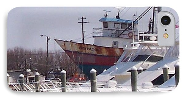 Boats Docked Phone Case by Pharris Art