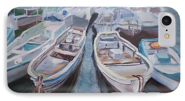 Boats Phone Case by Elena Sokolova