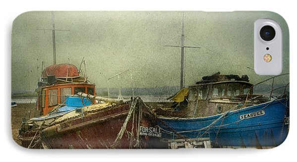 IPhone Case featuring the photograph Boats For Sale by Brian Tarr