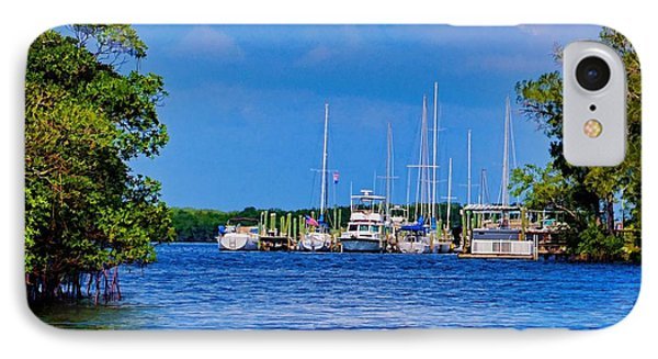 IPhone Case featuring the photograph Boat's Home by Pamela Blizzard