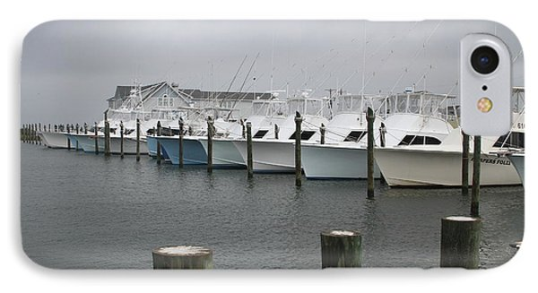 Boats In A Row 2 IPhone Case by Cathy Lindsey