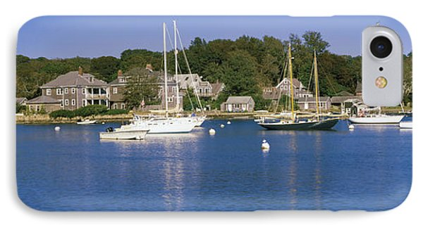 Boats In An Ocean, Provincetown, Cape IPhone Case by Panoramic Images
