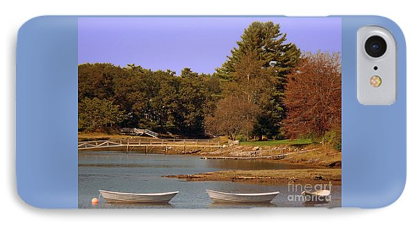 IPhone Case featuring the photograph Boats In Kennebunkport by Gena Weiser