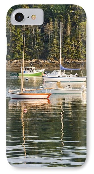 boats In Tenants Harbor Maine IPhone Case