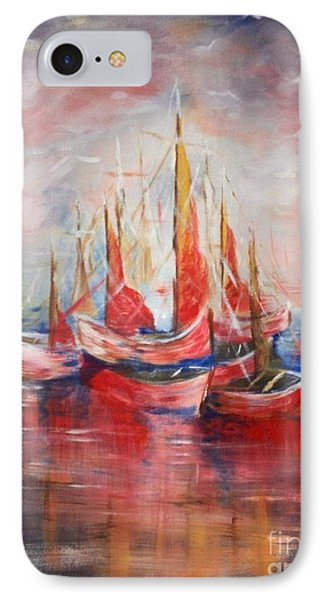 Boats Phone Case by Nahed Ismaeil