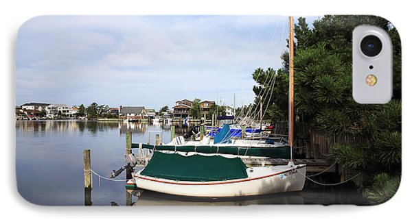Boats Of Long Beach Island Color Phone Case by John Rizzuto