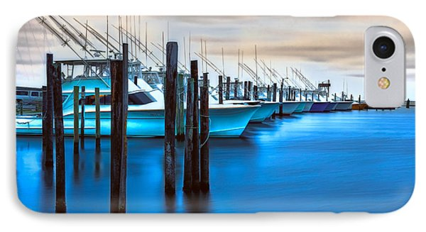 Boats On Glass II - Outer Banks IPhone Case by Dan Carmichael