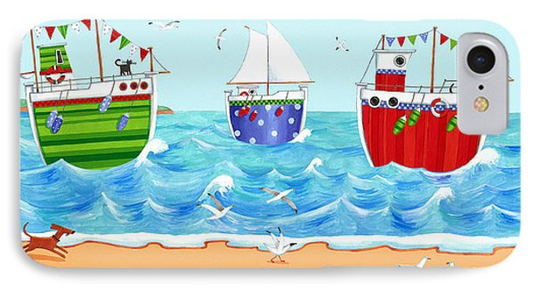 Boats IPhone Case by Peter Adderley