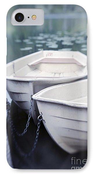 Boat iPhone 7 Case - Boats by Priska Wettstein