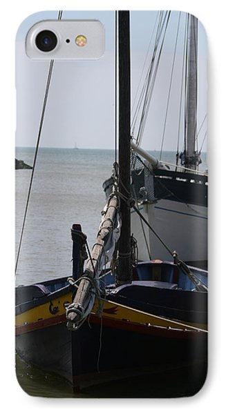 IPhone Case featuring the photograph Boats Resting by Phoenix De Vries