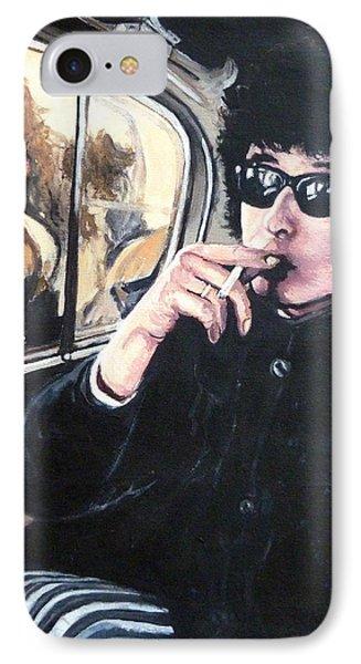 Bob Dylan 1966 Phone Case by Tom Roderick