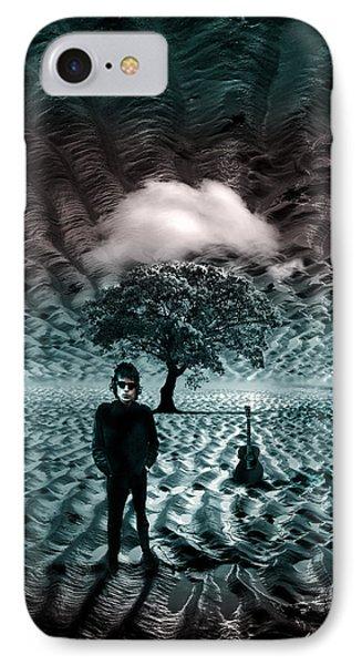 Bob Dylan A Hard Rain's A-gonna Fall Phone Case by Mal Bray