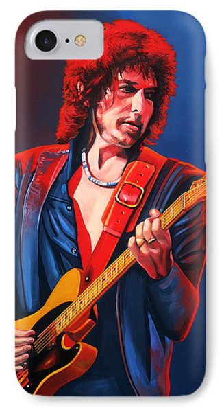 Bob Dylan Painting IPhone 7 Case