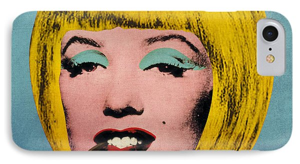 Bob Marilyn  With Surreal Pipe Phone Case by Filippo B