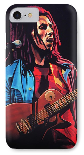 Bob Marley 2 IPhone Case by Paul Meijering