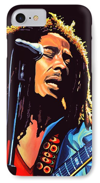 Bob Marley Phone Case by Paul Meijering