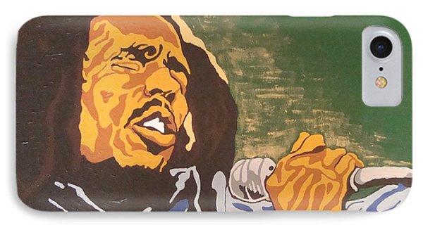 Bob Marley IPhone Case by Rachel Natalie Rawlins
