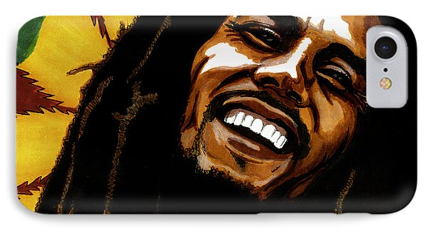 Bob Marley Rastafarian IPhone Case
