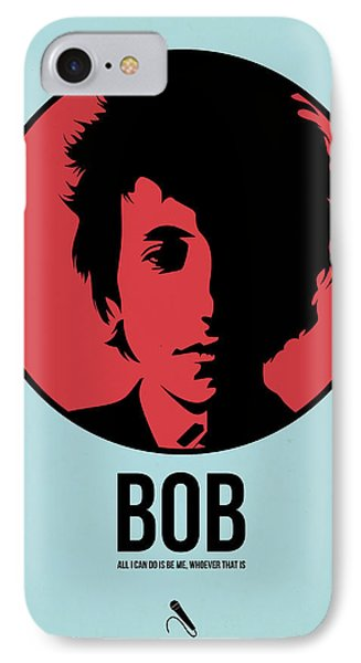 Bob Poster 2 IPhone Case by Naxart Studio