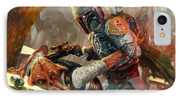 Boba Fett - Star Wars The Card Game IPhone Case