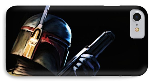Boba Fett IPhone Case by Jeff DOttavio