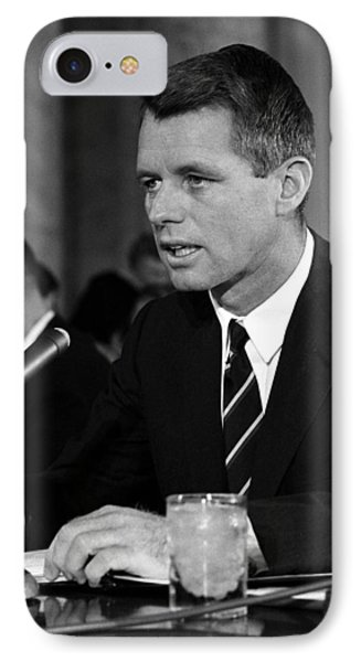Bobby Kennedy Speaking Before The Senate Phone Case by War Is Hell Store