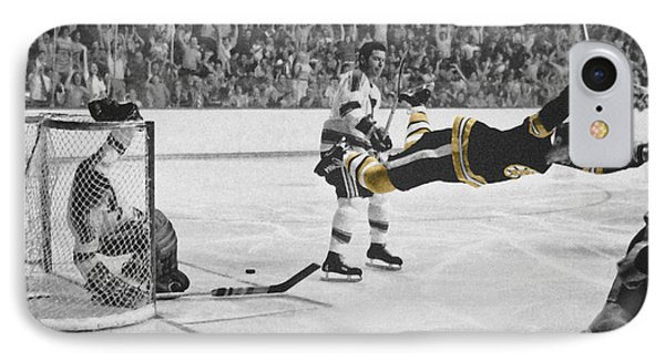 Bobby Orr 2 IPhone 7 Case by Andrew Fare