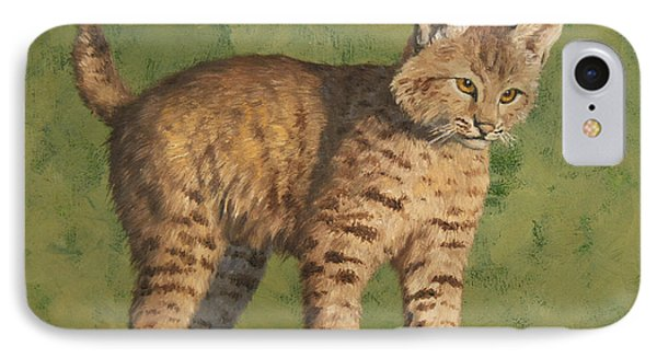 Bobcat Kitten IPhone Case