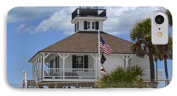 Boca Grande Lighthouse IPhone Case by Carol  Bradley