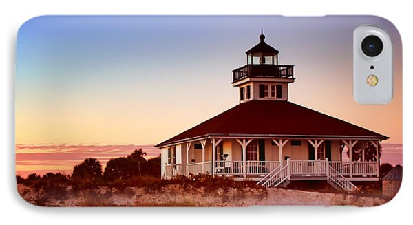 Boca Grande Lighthouse - Florida IPhone Case by Nikolyn McDonald