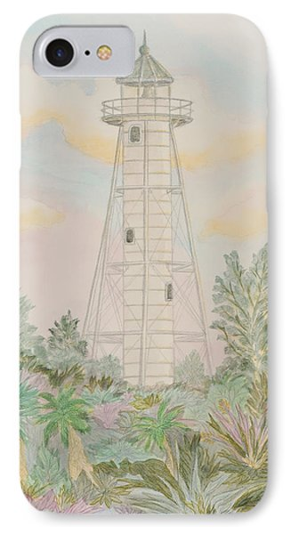 Boca Grande Lighthouse IPhone Case by Nancy Taylor