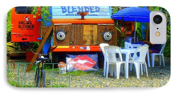Bocas Blended Phone Case by Kris Hiemstra
