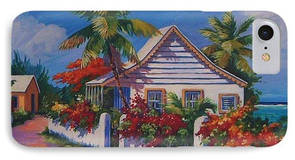 Bodden Town Cottage IPhone Case