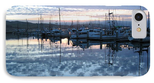 IPhone Case featuring the drawing Bodega Bay Sunrise by Dianne Levy