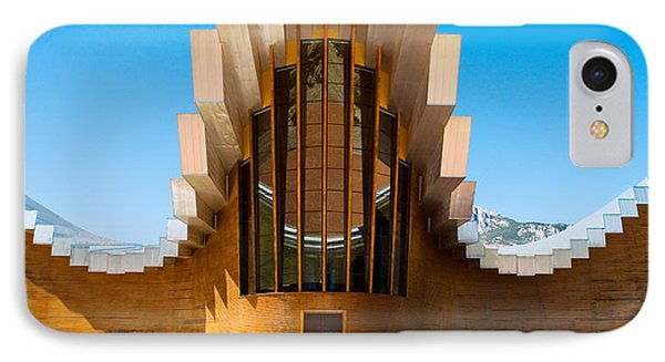 Bodegas Ysios Winery Building, La IPhone Case by Panoramic Images