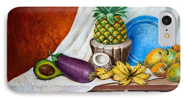 Bodegon Criollo IPhone Case by Edgar Torres