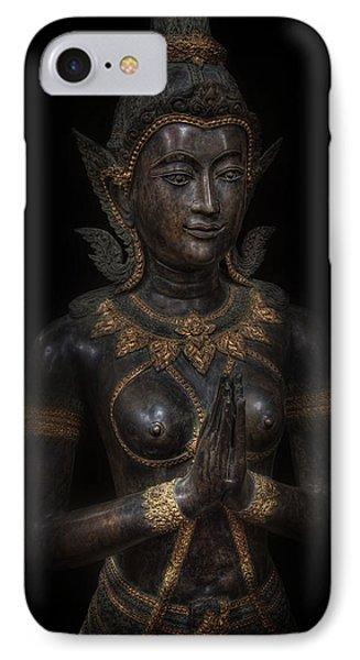 Bodhisattva Princess IPhone Case by Daniel Hagerman