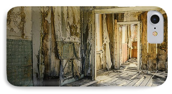 Bodie California Forgotten Ballroom Phone Case by LeeAnn McLaneGoetz McLaneGoetzStudioLLCcom