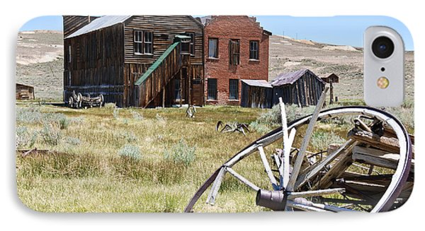 Bodie Ghost Town 3 - Old West IPhone Case by Shane Kelly