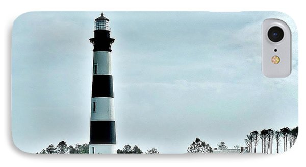 Bodie Island Lighthouse - Outer Banks North Carolina Phone Case by Kim Bemis