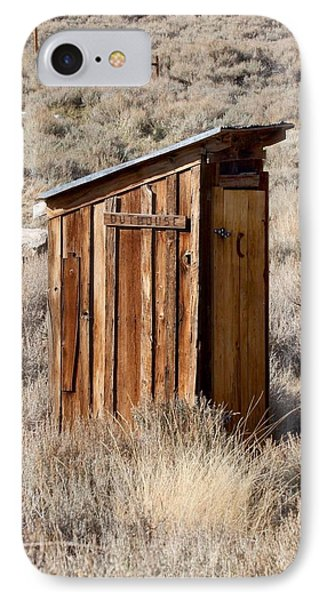 Bodie Outhouse Phone Case by Art Block Collections