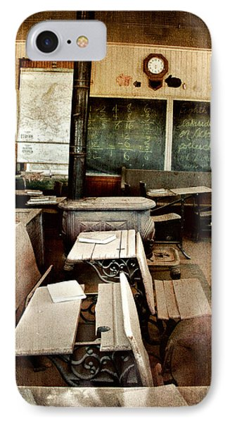 IPhone Case featuring the photograph Bodie School Room by Lana Trussell